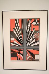 "Geoscape - Kelly McGreehan; ""Downward"" - Printmaking Thesis Exhibit; Ohio University, March 2012"