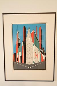 "Geoscape - Kelly McGreehan; ""Central"" Printmaking Thesis Exhibit; Ohio University, March 2012"