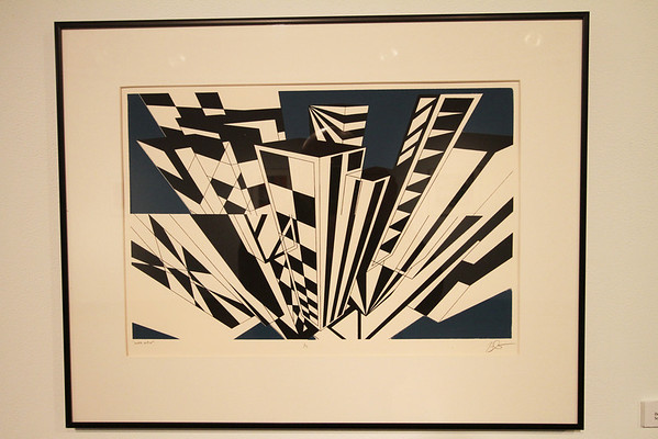 "Geoscape - Kelly McGreehan; ""Double View"" - Printmaking Thesis Exhibit; Ohio University, March 2012"