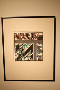 "Geoscape - Kelly McGreehan; ""Slanted"" - Printmaking Thesis Exhibit; Ohio University, March 2012"