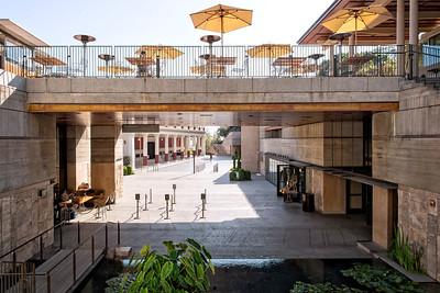 Getty Villa Courtyard Malibu