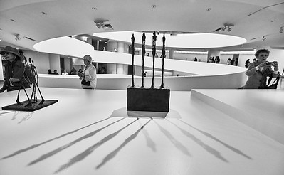 June 12, 2018 - NY, NY   Alberto Giacometti exhibition at New York's Guggenheim Museum of Art Photographer- Robert Altman Post-production- Robert Altman