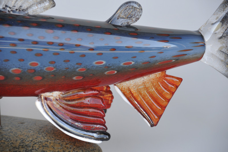 Dolly Varden - side detail