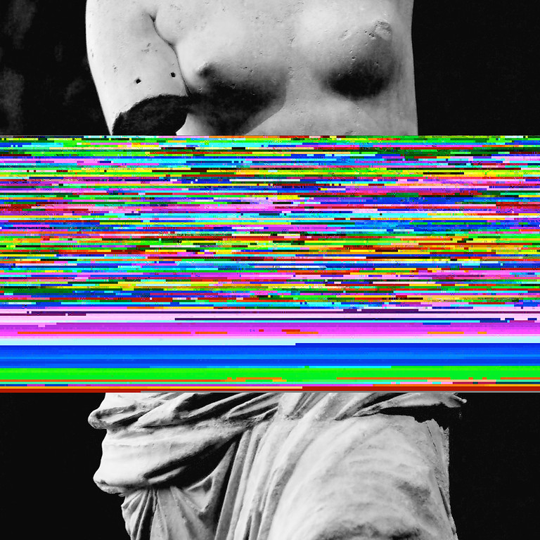 Venus of Glitch (square version)