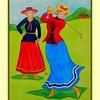 Ladies Day, May 1, 1901. 11x15, watercolor, jan 19, 2017.