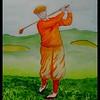 Bobby Jones, 1930. 10x14, watercolor, oct 28, 2015.