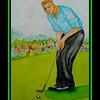 Arnold Palmer - 1960 Masters, 11x15, watercolor, april 20, 2017.