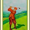 George Duncan, Winner Britsh Open, 1920. 11x15, watercolor, feb 11, 2017.
