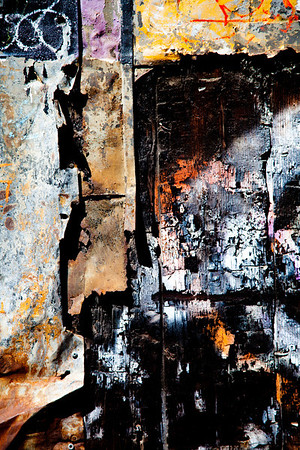 Abstract with Color & Texture