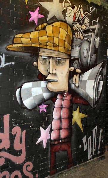 Graffiti art, London