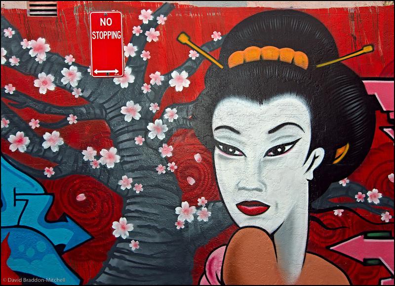 Chippendale Geisha