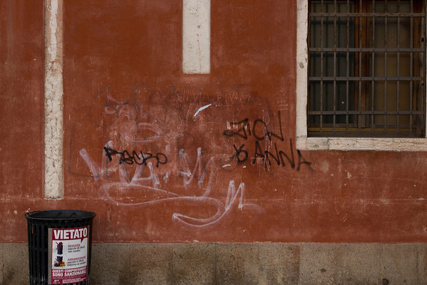 Italy, Venice, Grafitti SNM