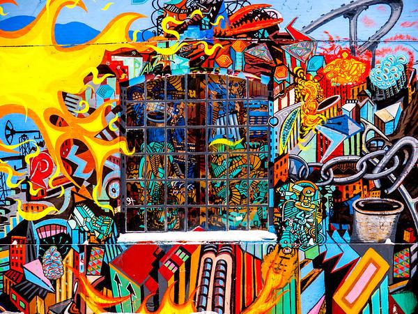 Graffitti in Denmark. Photo: Martin Bager.