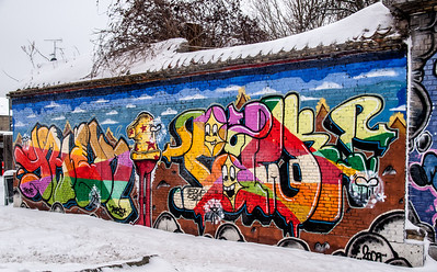 Graffitti in Denmark. Photo: Martin Bager.