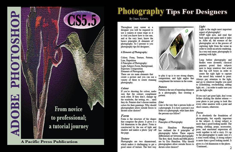 Magazine Design assignment using Adobe InDesign