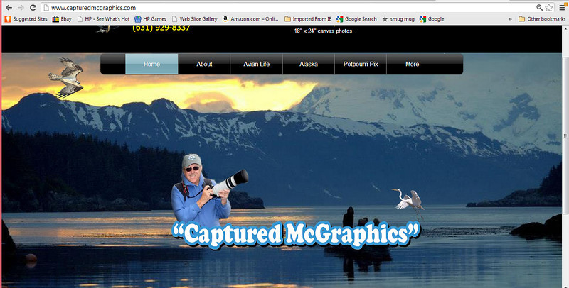 """Website created for """"Captured McGraphics"""" 2013  To view the website click on the following link: <a href=""""http://www.capturedmcgraphics.com"""">http://www.capturedmcgraphics.com</a>"""