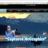 "Website created for ""Captured McGraphics"" 2013  To view the website click on the following link: <a href=""http://www.capturedmcgraphics.com"">http://www.capturedmcgraphics.com</a>"