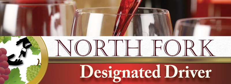 Web banner design for North Fork Designated Driver