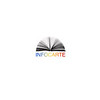 """Logo design for Online catalogue of Romanian Books in Print:<br /> <a href=""""http://www.infocarte.ro"""">http://www.infocarte.ro</a>"""