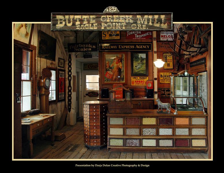 Promo sheet for Butte Creek Mill, Eagle Point, Oregon