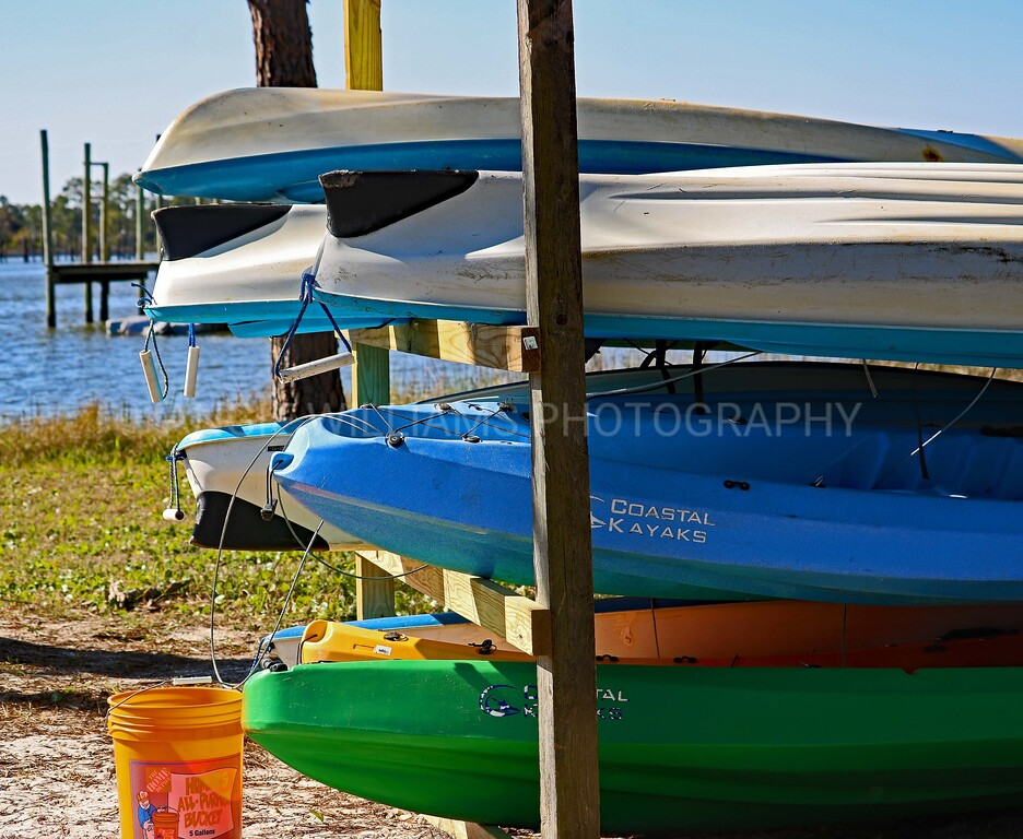 Kayaks and Bucket