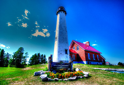 Tawas Point Lighthouse in Michigan