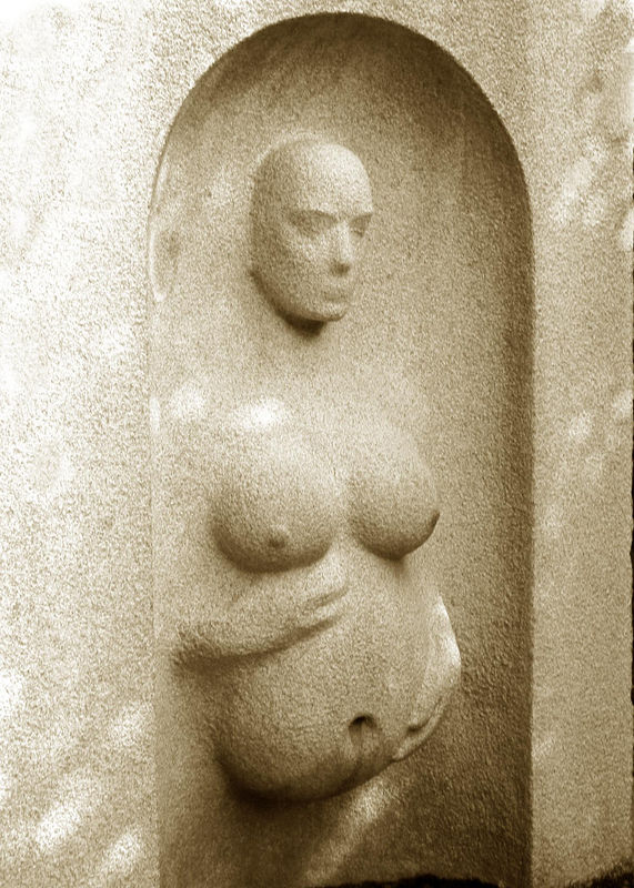 Birth of the messenger, 1998, Viktor. At the Grounds for Sculpture, 18 Fairgrounds Rd, Hamilton NJ