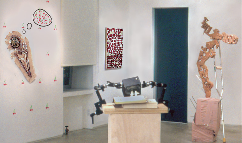 Proposition Gallery Exhibit; Southwest view, main gallery, 2005.