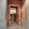 Hutong Door. Beijing, hdr