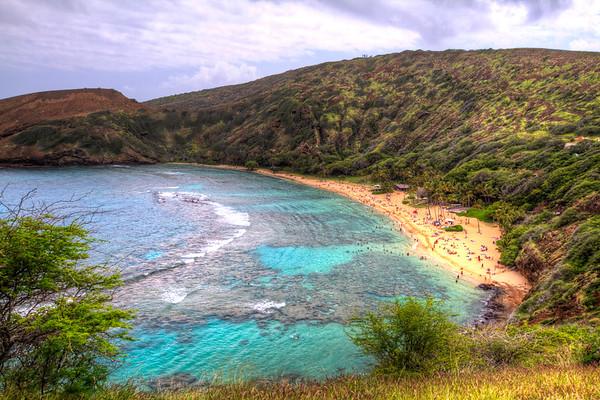 Hanauma Bay - Oahu, Hawaii.