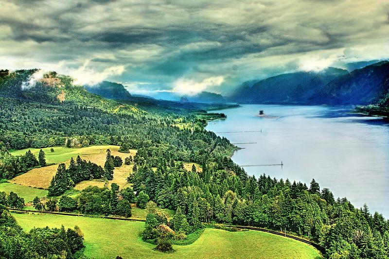 Columbia River Gorge, WA side