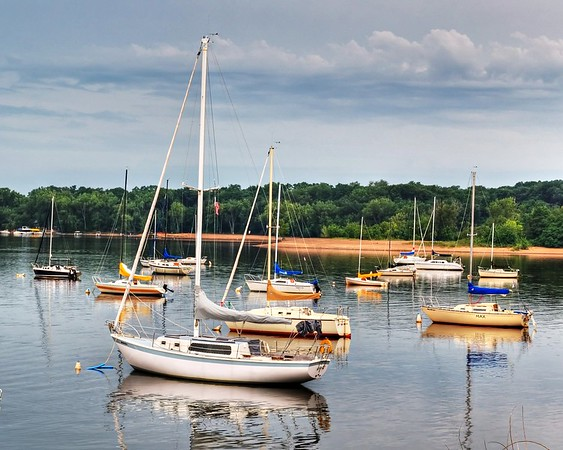 Boats on the St. Croix Cottage Grove fine art photographer and photography