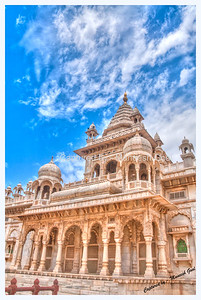 Jaswant Thada, Jodhpur (The Blue City)  - HDR Image