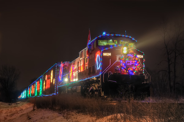 Holiday Train Cottage Grove fine art photographer and photography