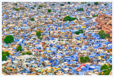 Jodhpur (The Blue City)  - HDR Image