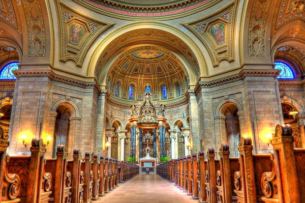 St. Paul's Cathedral, St. Paul, MN, Cottage Grove fine art photographer and photography