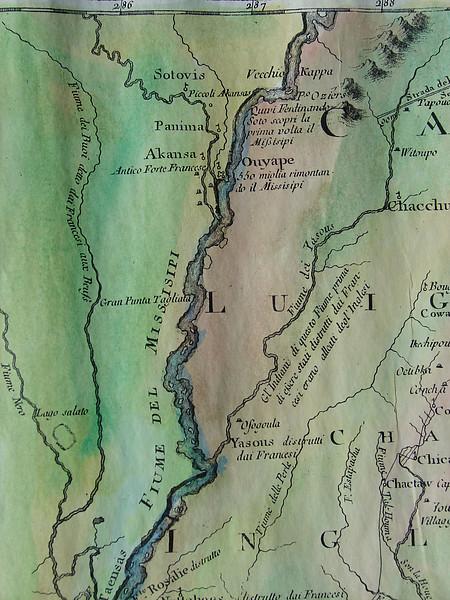 Flume del Mississippi detail