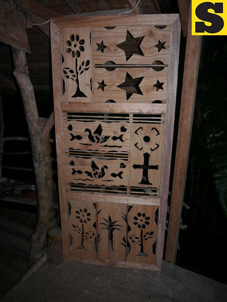 CAGAYAN DE ORO. Okil door project symbols of life and survival. (Maria Rosalie Zerrudo)