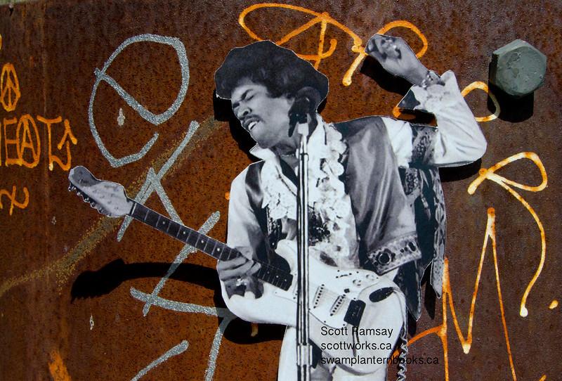 Jimi Hendrix<br /> Scott Ramsay<br /> Vancouver<br /> Main Street