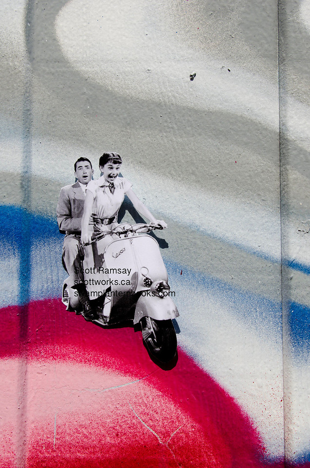 Audrey Hepburn<br /> Scott Ramsay<br /> Vancouver<br /> Main Street