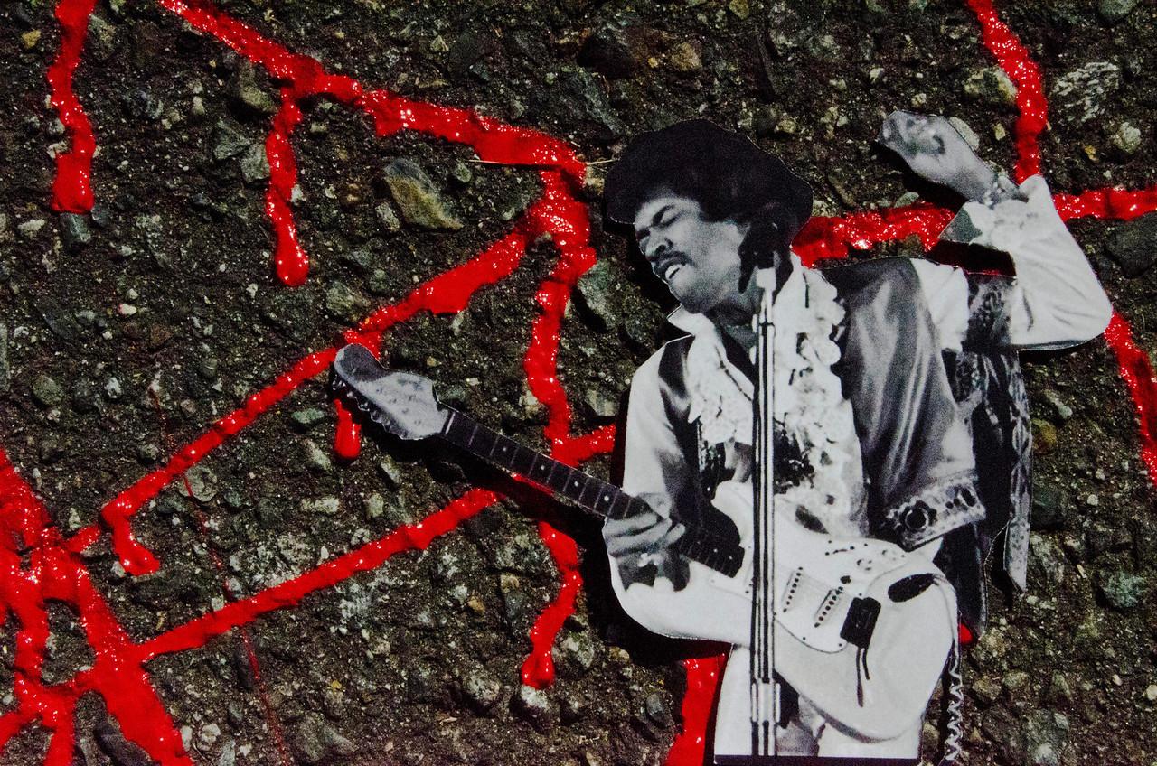 Jimi Hendrix<br /> <br /> Scott Ramsay<br /> Vancouver<br /> Main Street
