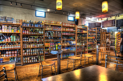 Tucson's Time Market is part café, part espresso bar, part grocery story, and part wine & beer shop -- a cozy little destination