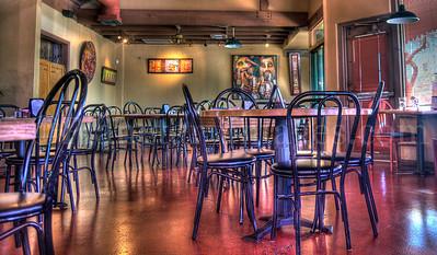 Restaurant chairs in Tucson, Arizona