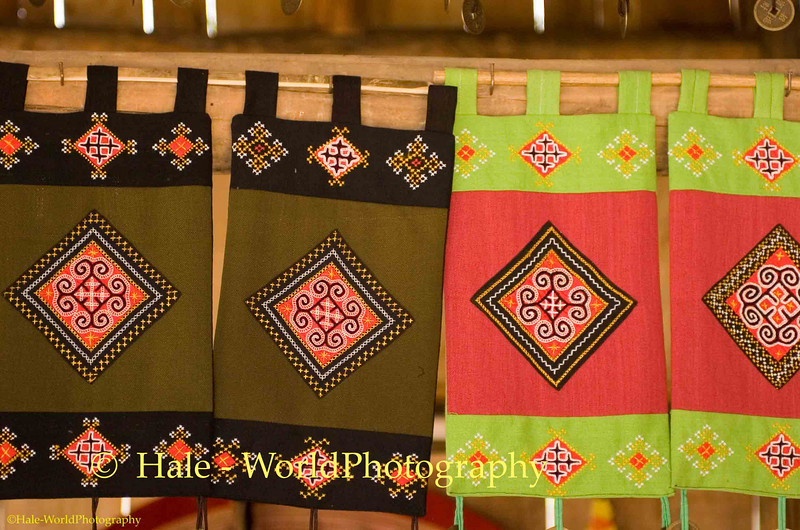 Hmong Hill Tribe Textile Art, Sapa Thailand