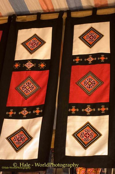 Hmong Hill Tribe Textile Art, Sapa Vietnam