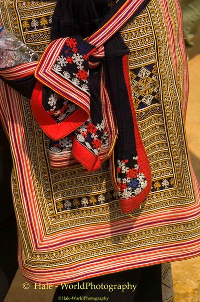 Hill Tribe Textile Art