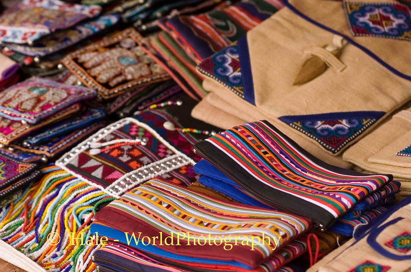 Hill Tribe Textile Art, Chiang Rai Thailand