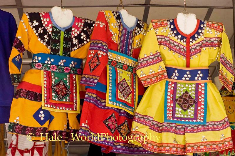 Hill Tribe Traditional Clothing Chiang Rai, Thailand