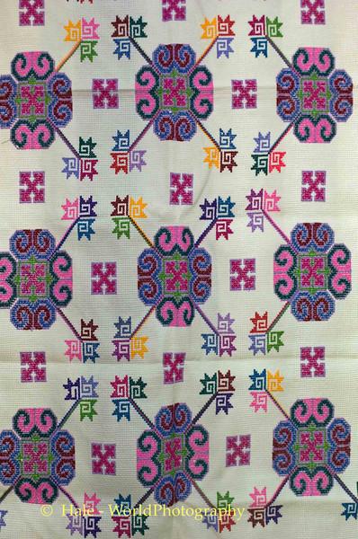 Yao (Mien) Hill Tribe Textile Art, Chiang Rai, Thailand