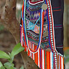 Akha Hill Tribe Man's Shoulder Bag, Chiang Rai, Thailand